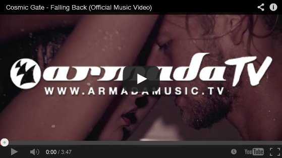Cosmic Gate - Falling Back (Official Music Video)